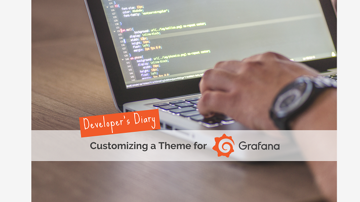 Developer's Diary #1 Changing Theme Design in Grafana